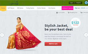 GetSaree Shopping Cart