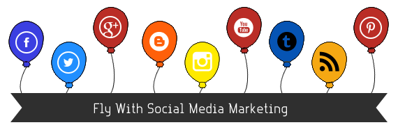 Social Media Marketing Baloon
